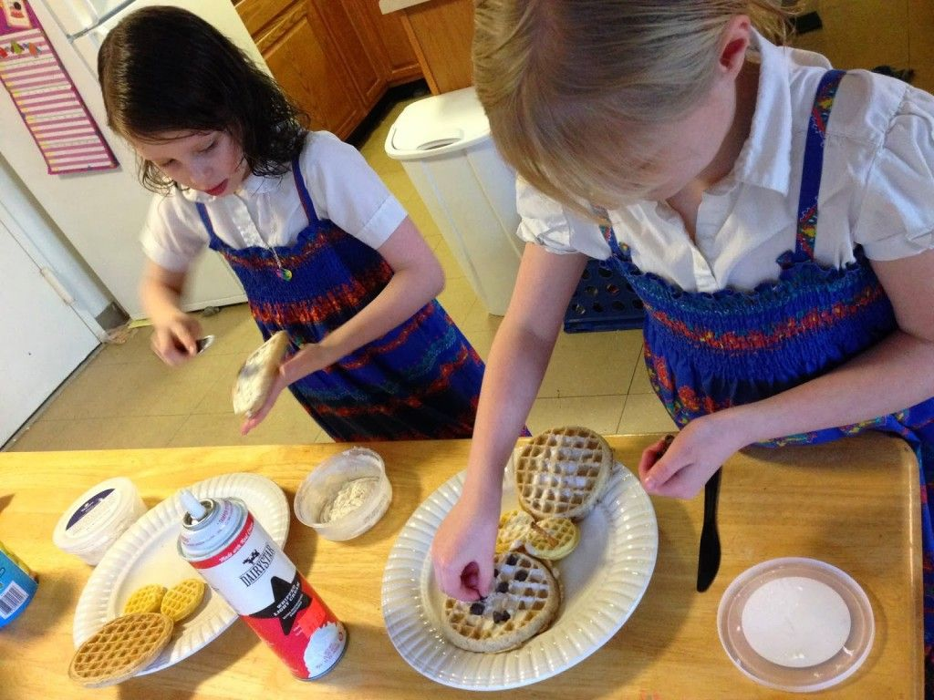 Easy Breakfast Ideas Kids Can Cook Themselves - Frozen Waffles