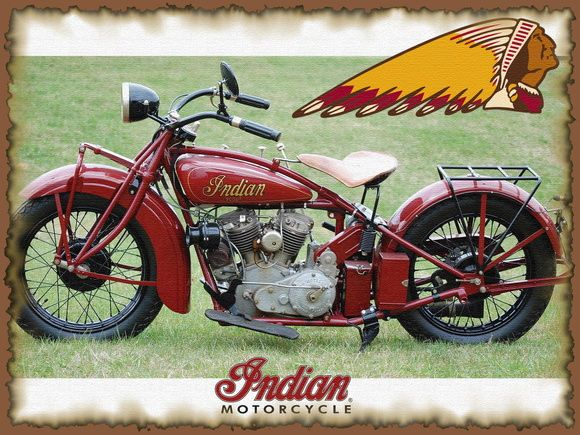 poster moto 30x40cm