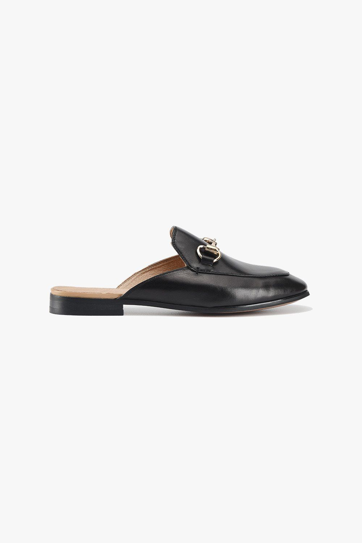 8cf16aa5ba27 Leather Slip Mules