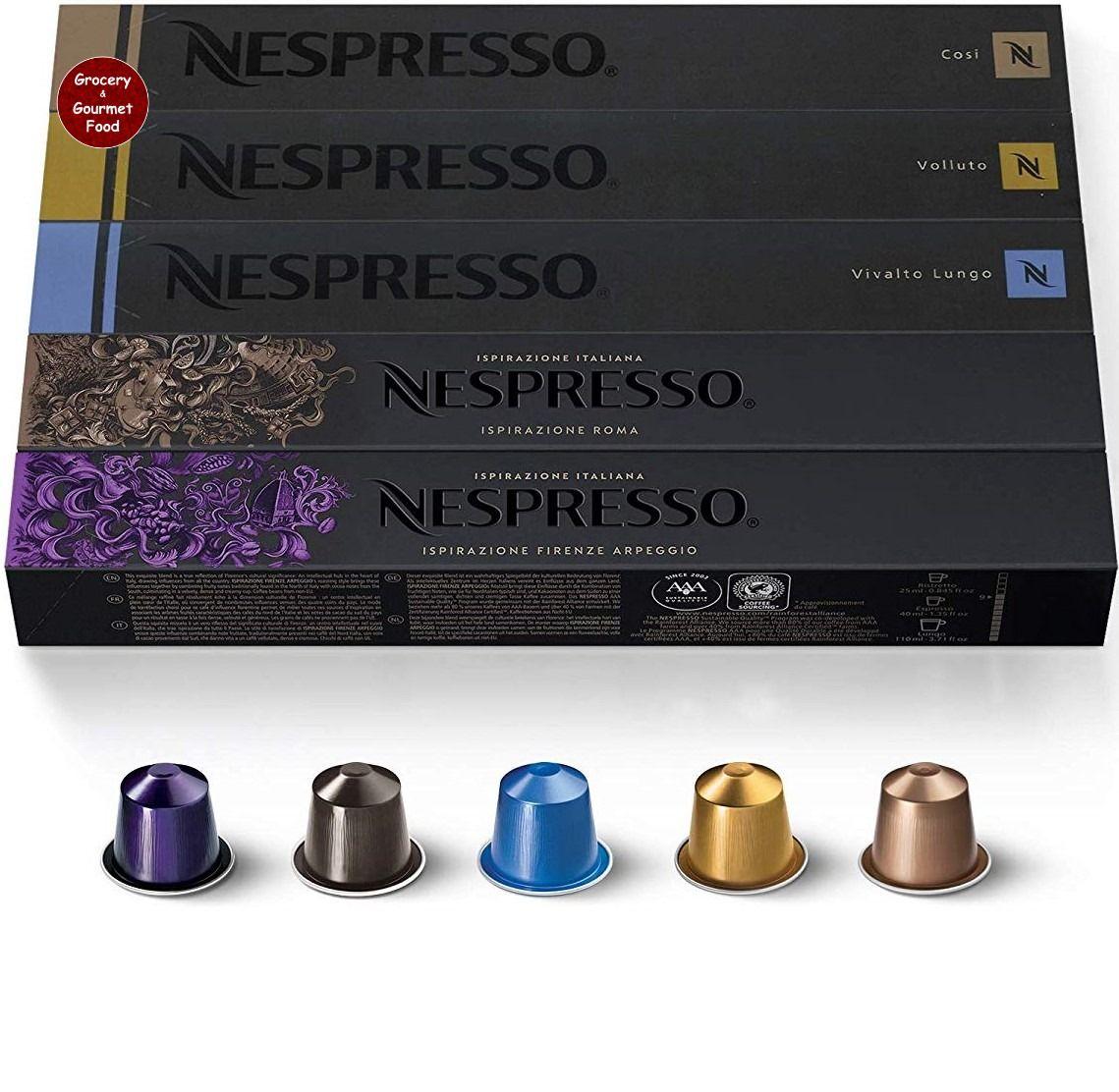 Nespresso Capsules Originalline Variety Pack From Mild To Medium