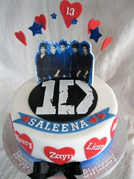 Peachy One Direction Birthday Cake Cake One Direction Birthday Funny Birthday Cards Online Elaedamsfinfo