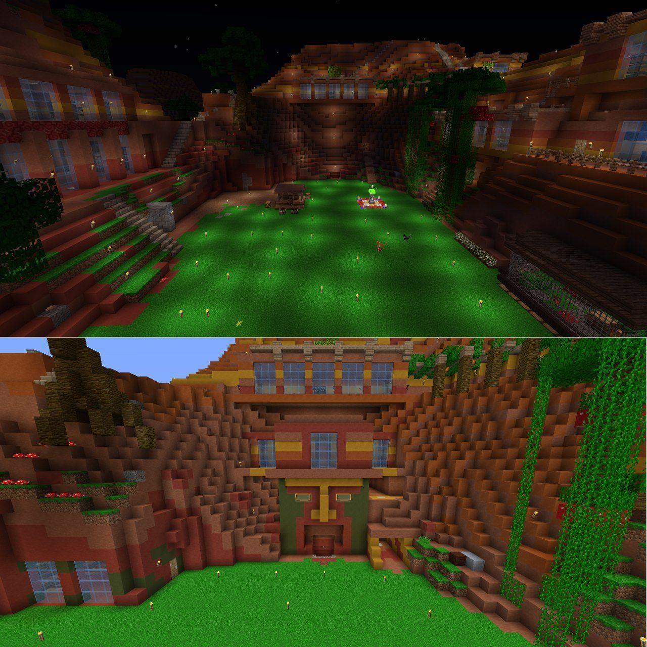 Mine Entrance And Storage Room : Minecraft