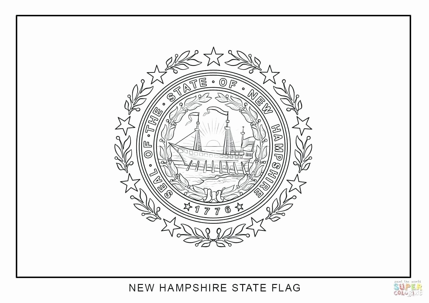 Mississippi State Flag Coloring Page Best Of New Jersey Coloring