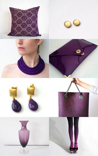 Purple by Karin Iticovich on Etsy--Pinned with TreasuryPin.com