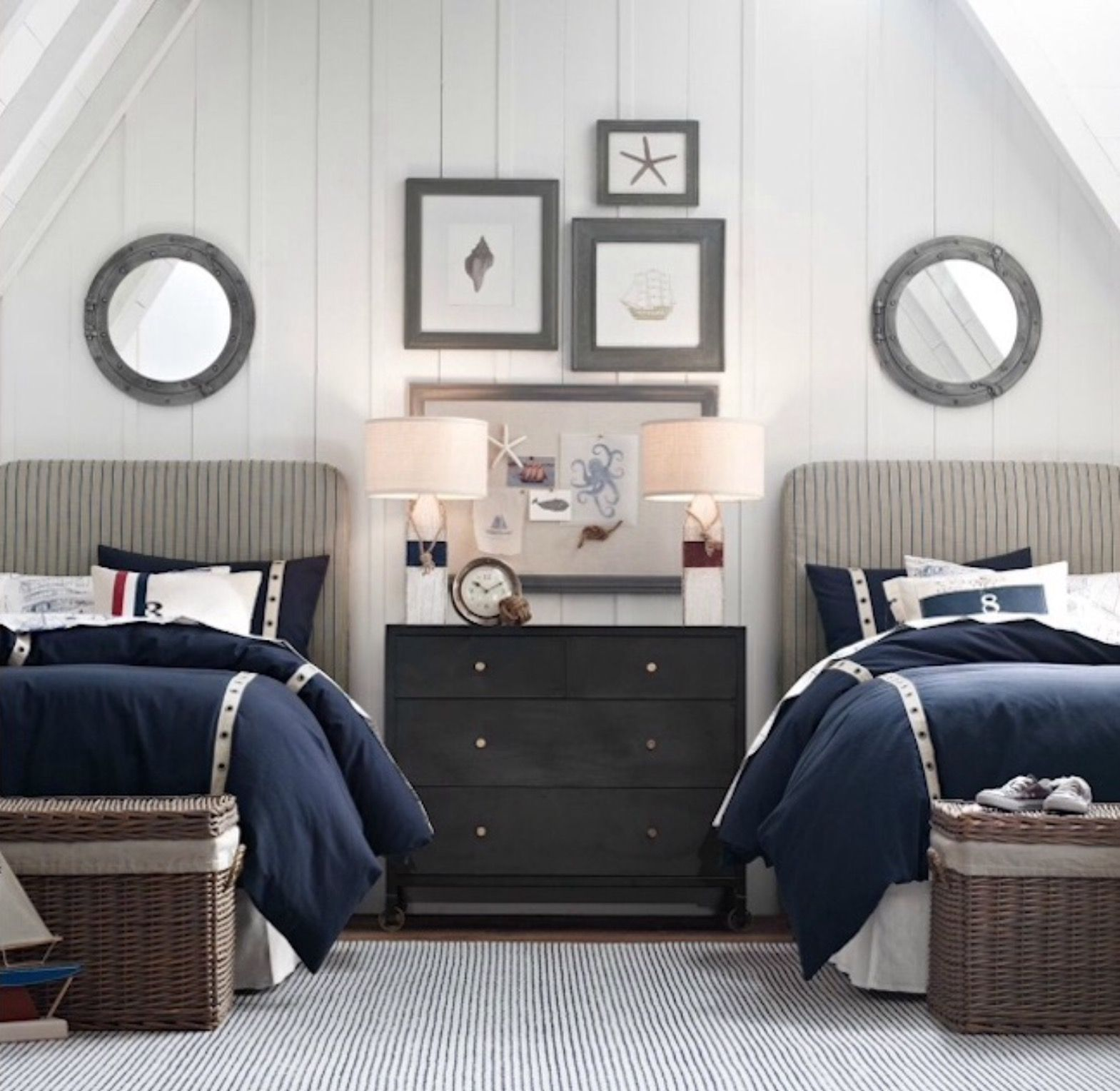 decor ideas wall anchor nursery childrens themes decorating sailboat themed kids room s nautical baby living children size of full theme bedroom