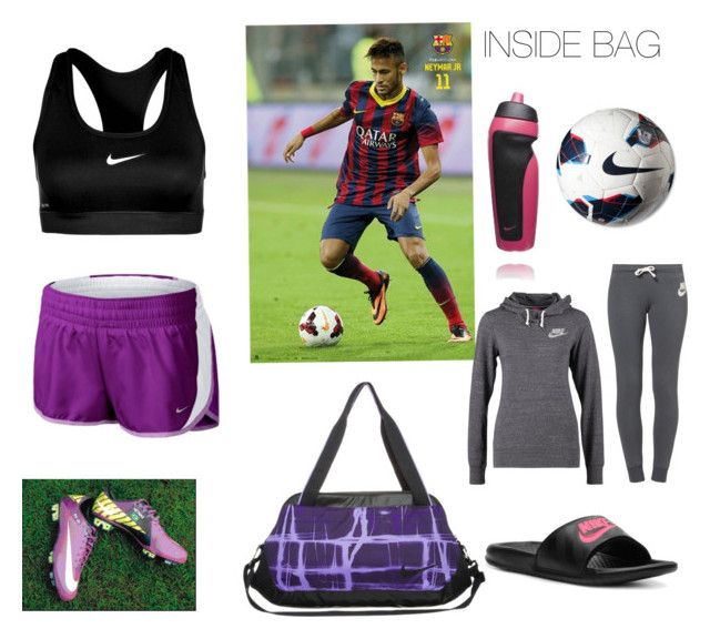 """""""Soccer Practice with Neymar"""" by eminabieber123 ❤ liked on Polyvore featuring NIKE and plus size clothing"""