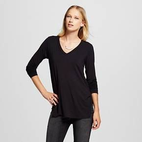 19aceec9 Women's Long Sleeve V-Neck Tee - Mossimo™ : Target | My Style | V ...