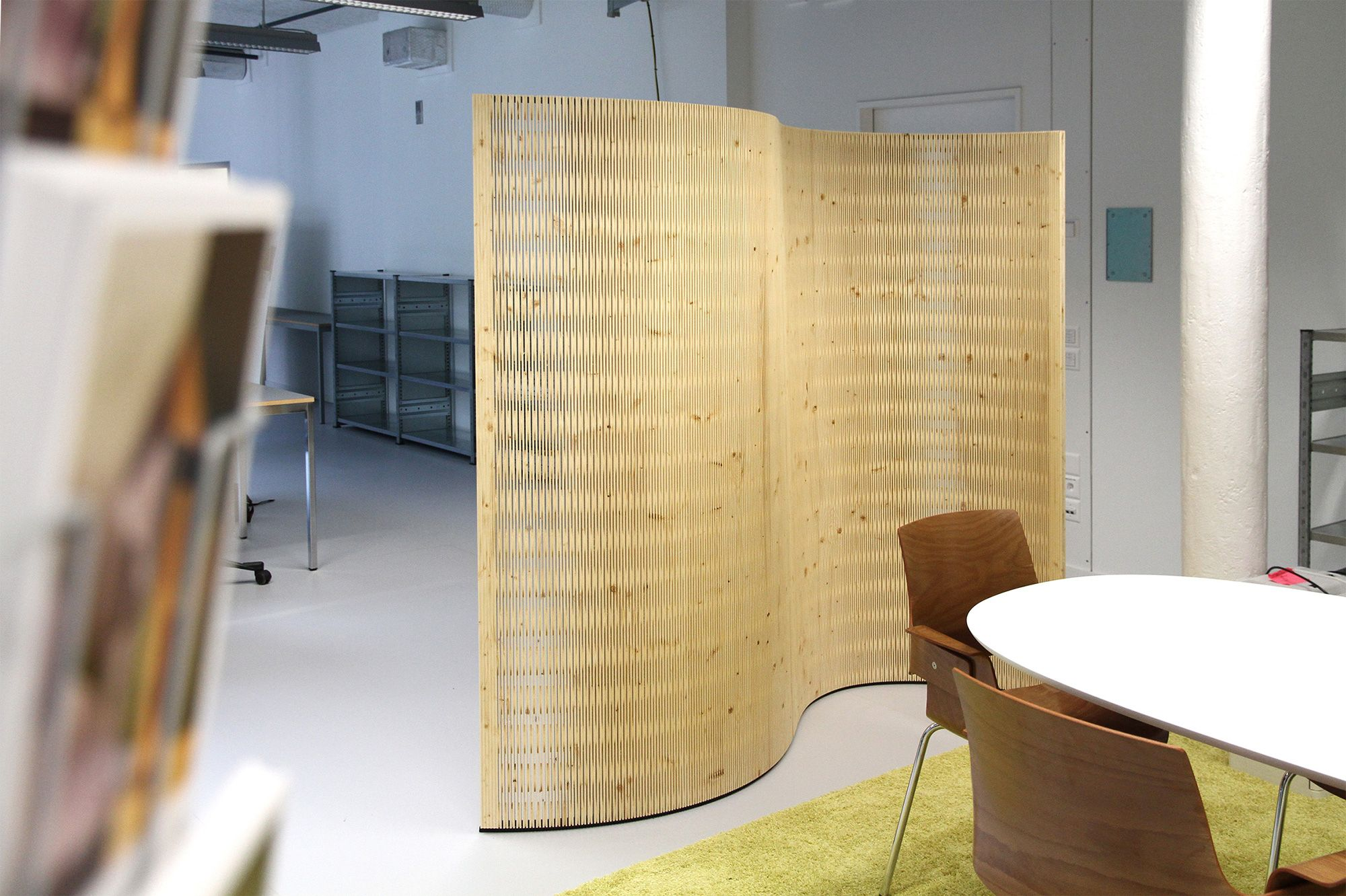 Berühmt Design Schallabsorber Trennwande Zeitgenössisch - Die ...