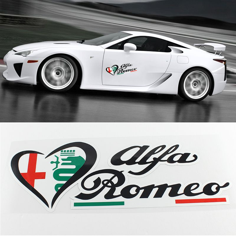 Alfa Stickers >> Find More Emblems Information About New Funny Car Sticker 3d Hot