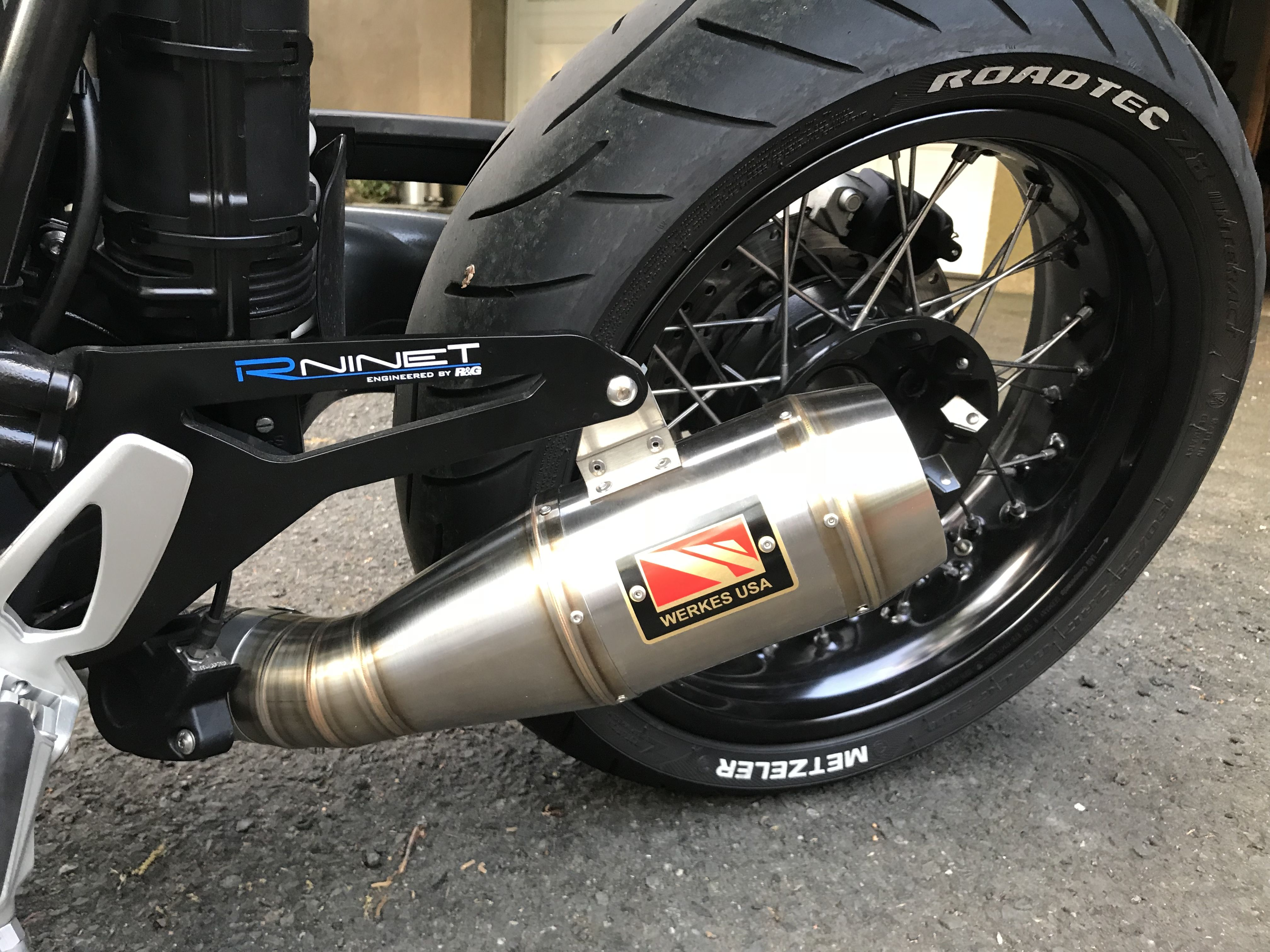competition werkes slip on exhaust for