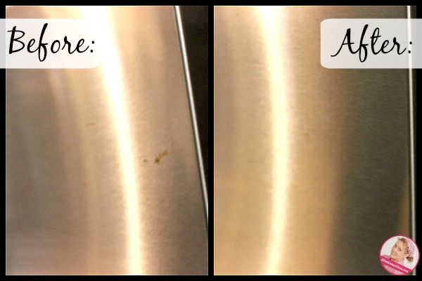 Dealing With Rust Stains On My Stainless Steel Appliances A Slob Comes Clean How To Clean Rust Cleaning Stainless Steel Appliances Cleaning Stainless Steel Fridge
