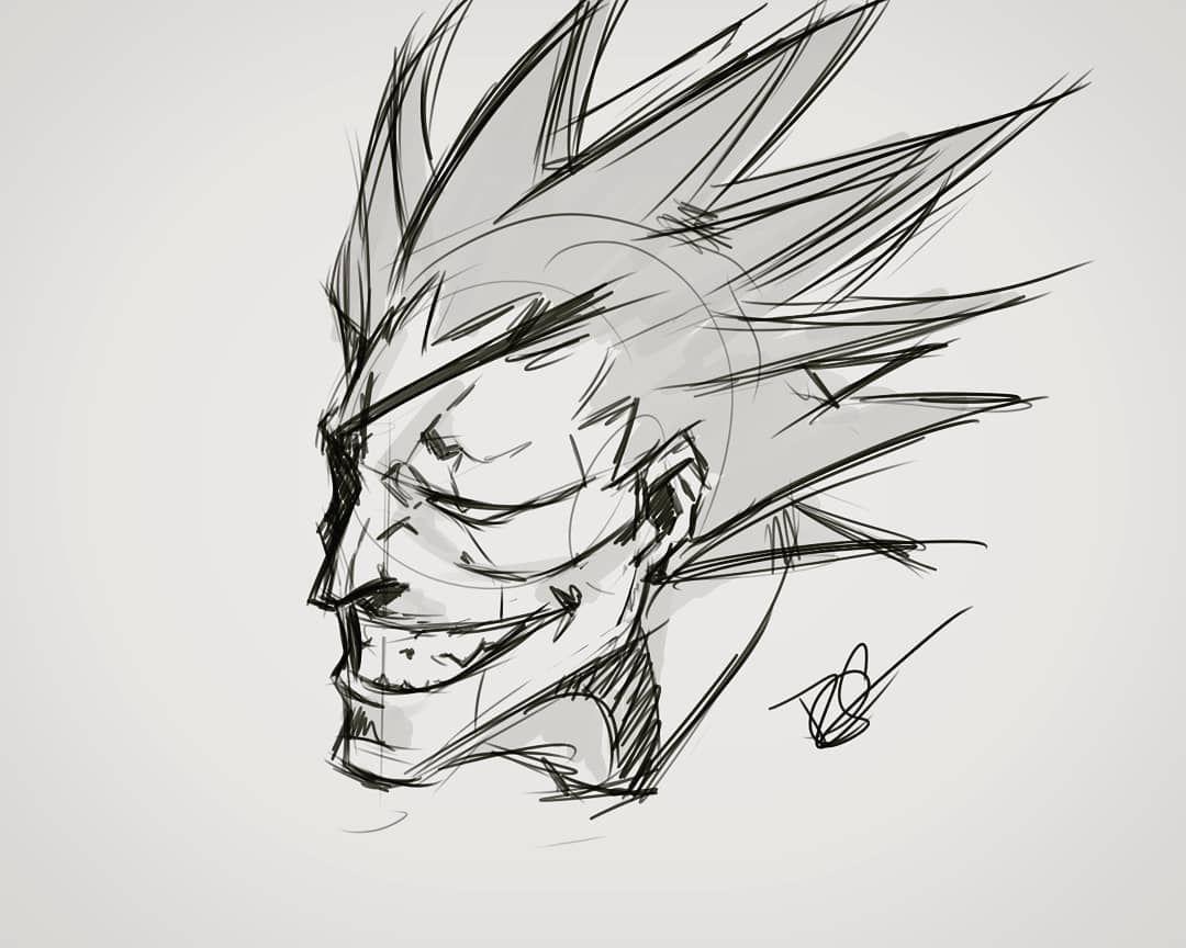 Zaraki Kenpachi De Bleach Drawing Myart Anime Manga Bleach Shonenjump Characterdesign Sketch Digitalart Samurai Artwork Kenpachi Zaraki Male Sketch