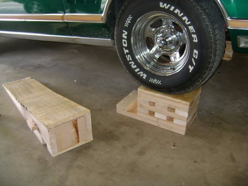 Car Ramps By Andymarkv Homemade Car Ramps Constructed From