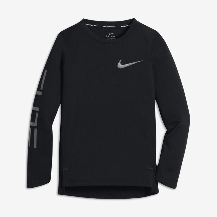 Nike drifit elite big kids boys long sleeve