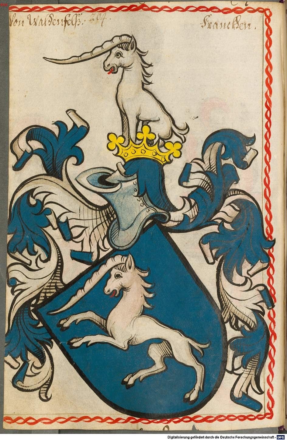 Scheibler'sches Wappenbuch Süddeutschland, um 1450 - 17. Jh. Cod.icon. 312 c  Folio 264