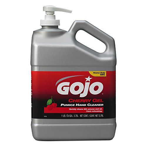 Gojo Cherry Gel Pumice Hand Cleaner Cherry Fragrance 1 Gallon