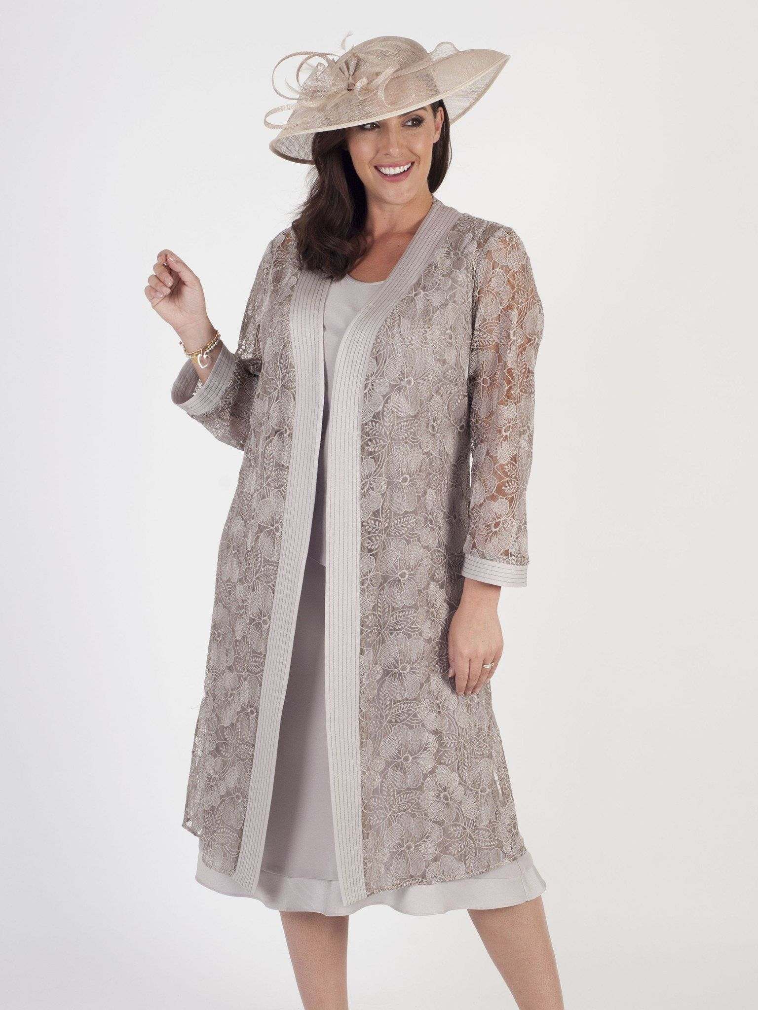 Occasion Dress with Matching Coat   Occasion Dress with co ...