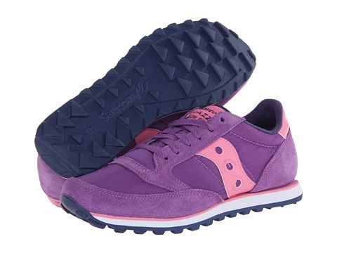 b57308a0e2 Saucony Originals Jazz Low Pro Purple/Pink/Navy - 6pm.com | shoes ...