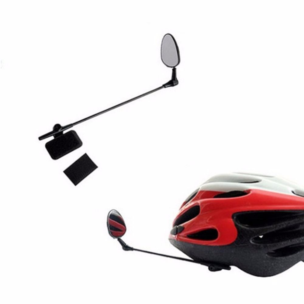 BICYCLE BIKE HELMET REAR VIEW MIRROR NEW