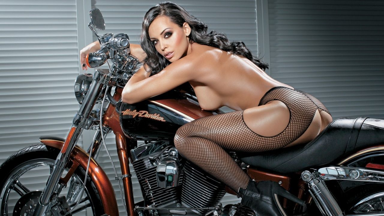 from Derrick nude babes and harleys