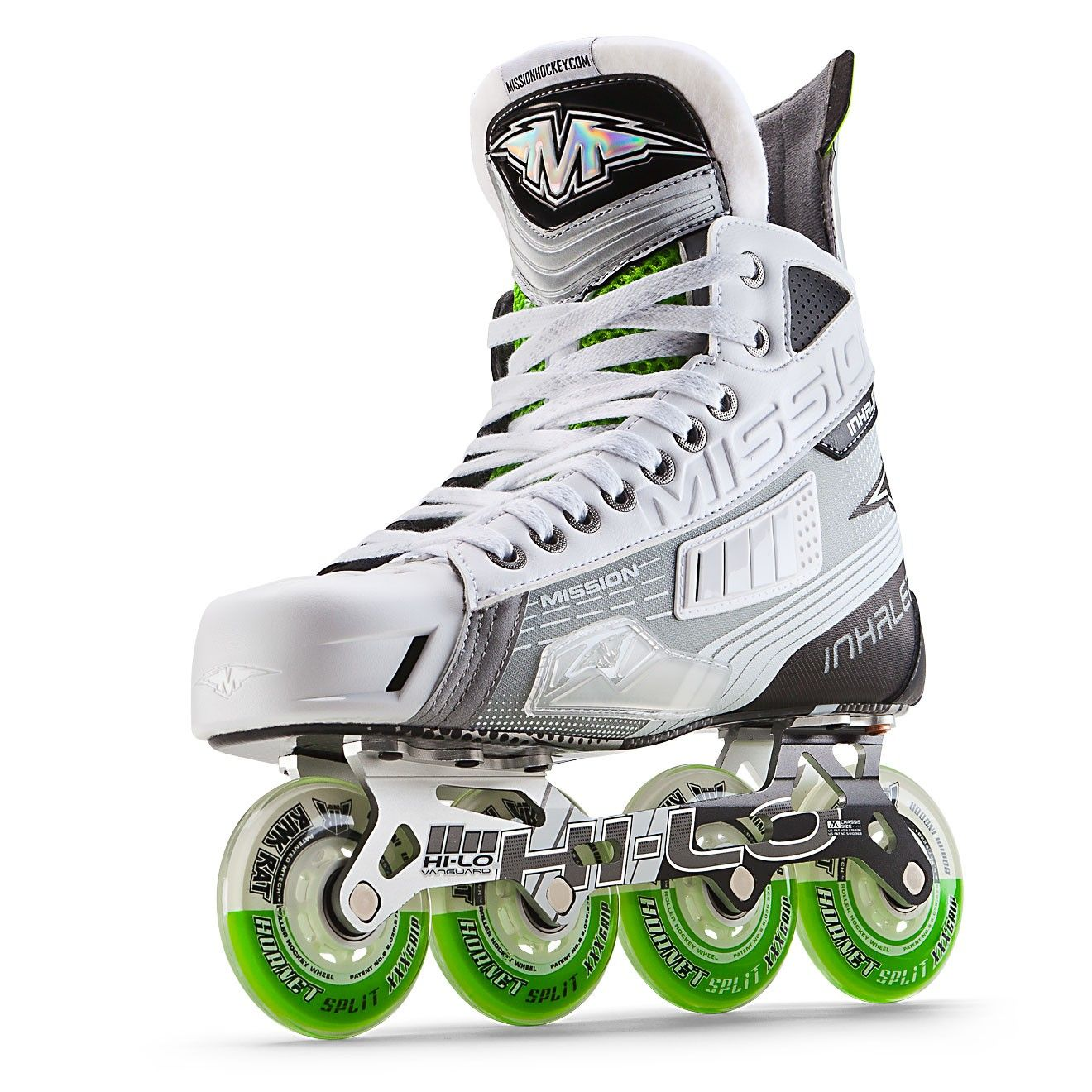 Mission Inhaler Ac2 Roller Hockey Skate Senior Roller Hockey Skates Inline Skating Roller Skates