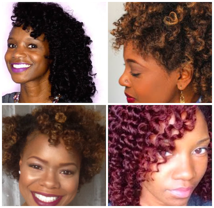 Hairstyles For Black Permed Hair Medium Length : How to do a flawless curly set on any length of natural hair