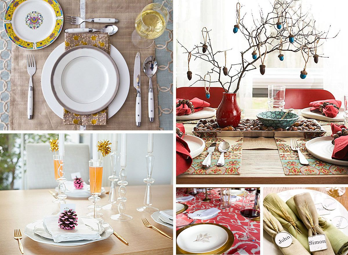 12 Stylish Thanksgiving Table Setting Ideas Thanksgiving Table