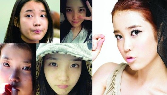 13 Female Idols Before And After Makeup Allkpop Com Female Makeup Idol