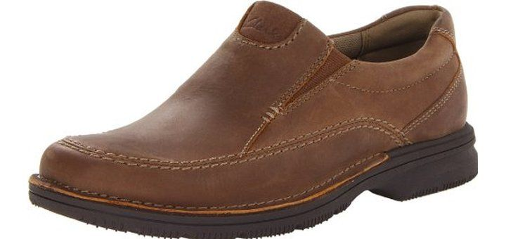 3336794c669 Clarks Men s Senner Lane Slip-On Shoes It is an extremely light weight shoe  and it comes with a sole that is very flexible and subtle.
