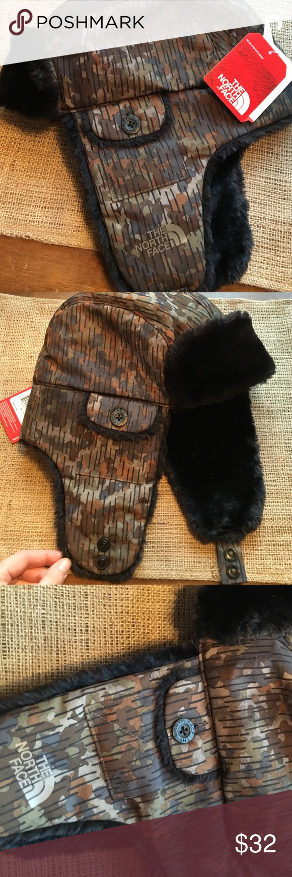 Nwt Men s North Face trapper hat Perfect hat to brave the winter weather!  Bought off 5589706ea3e