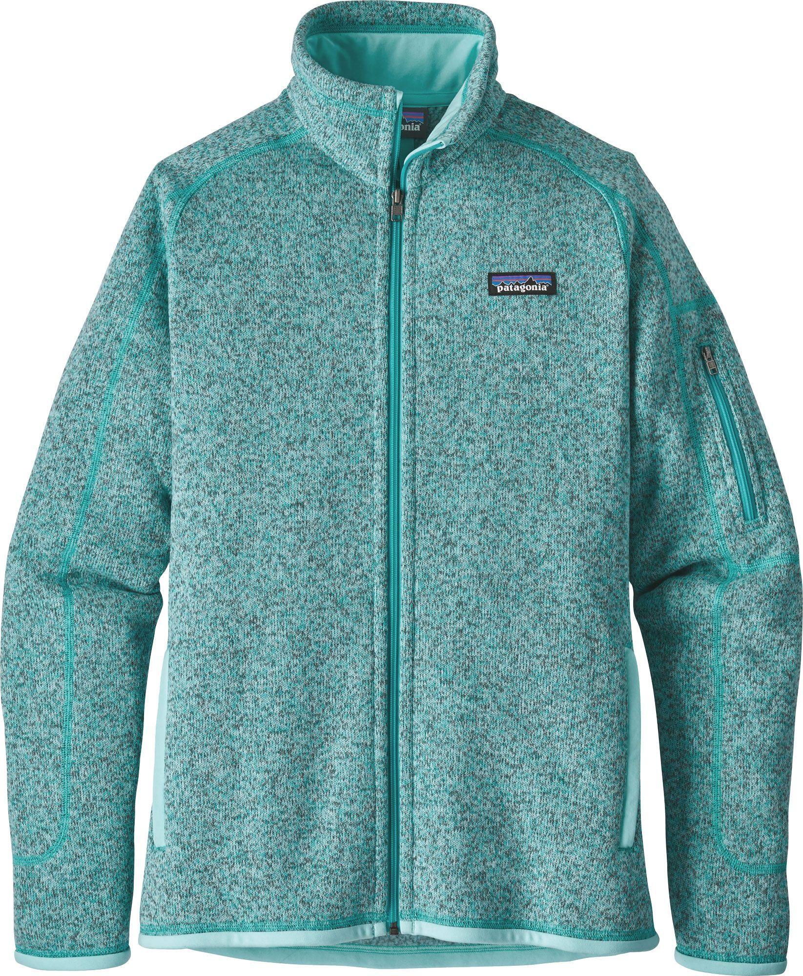 Patagonia Womens Better Sweater Fleece Jacket Size Xs Birch