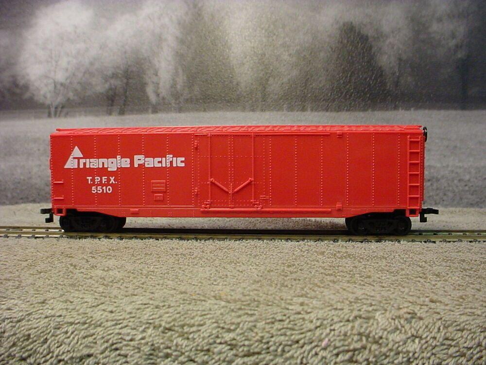 HO Scale Bachmann Triangle Pacific 50' Plug Door Boxcar TPFX5510