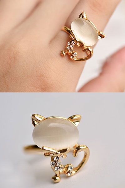 KOREAN CUTE KITTY DESIGN RING Price RM 8 90 yoloveitmy