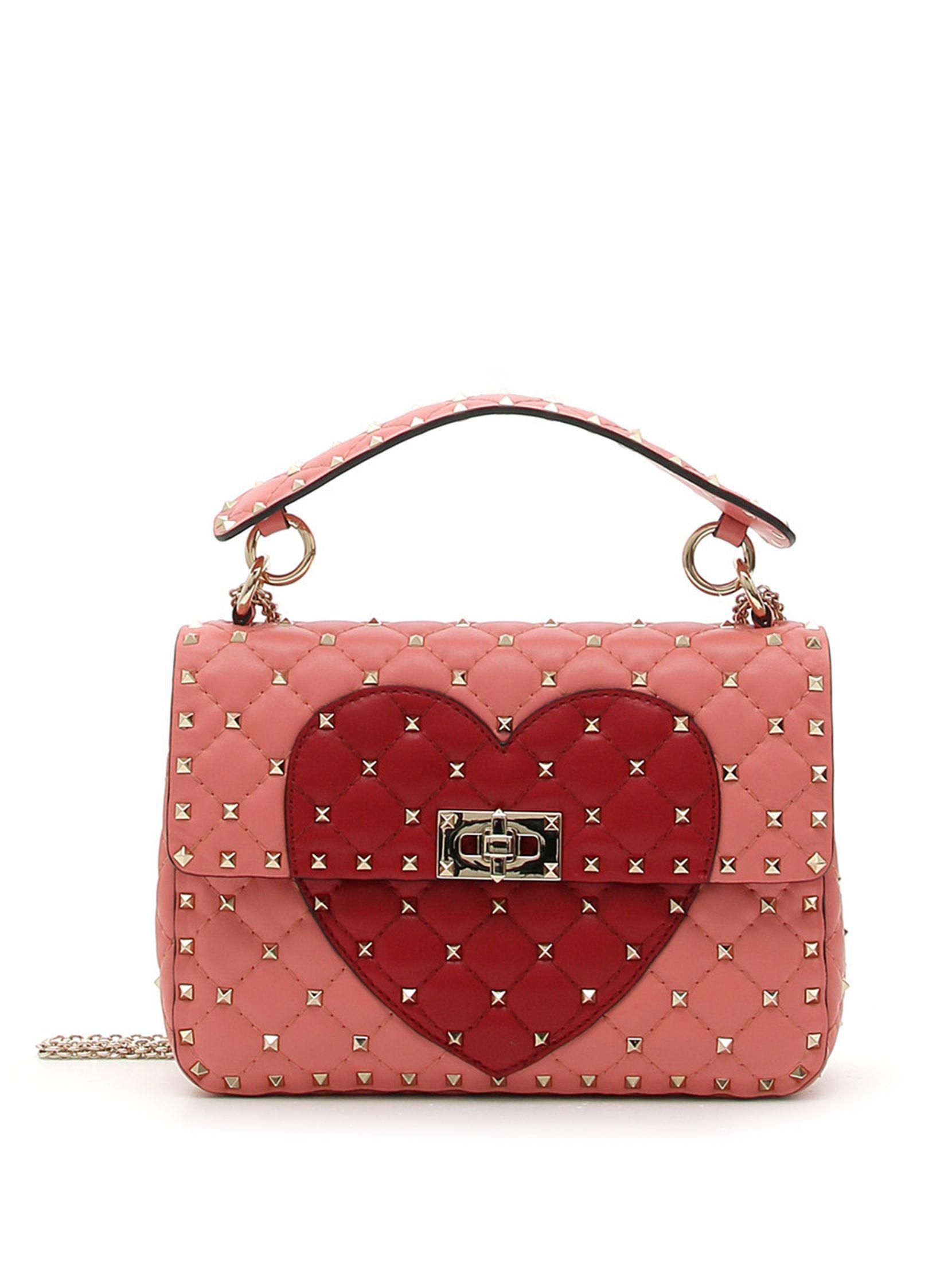 429a5c906c5 Valentino Rockstud Heart Shoulder Bag Sac À Main