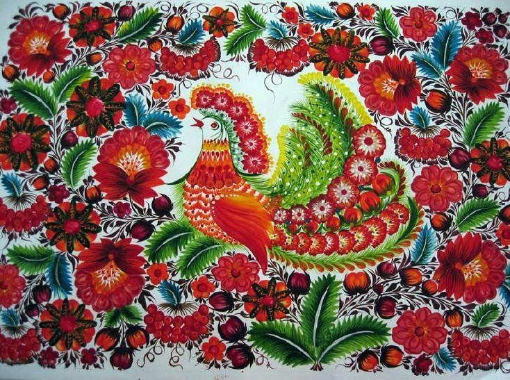 Петриковский орнамент картинки