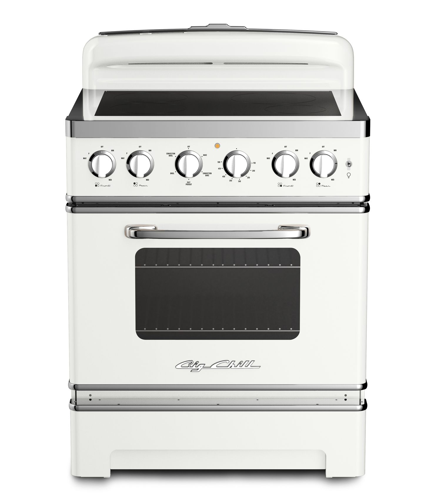 30″ Retro Electric Induction Range | Ranges, Kitchens and Big chill