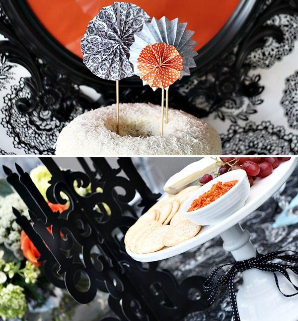 Gorgeous Vintage-Gothic Halloween Party Gothic halloween - vintage halloween decorating ideas