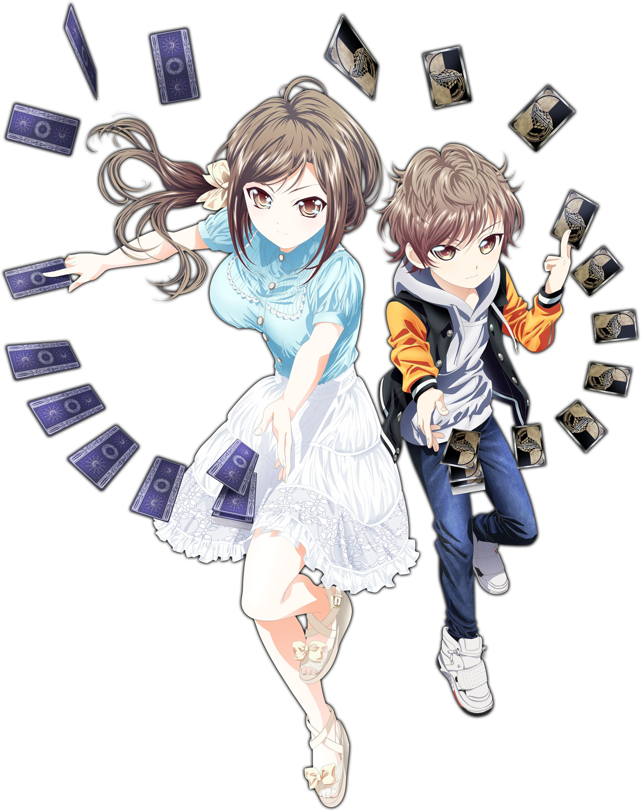 Hand Shakers Riri And Masaru All Anime Girls