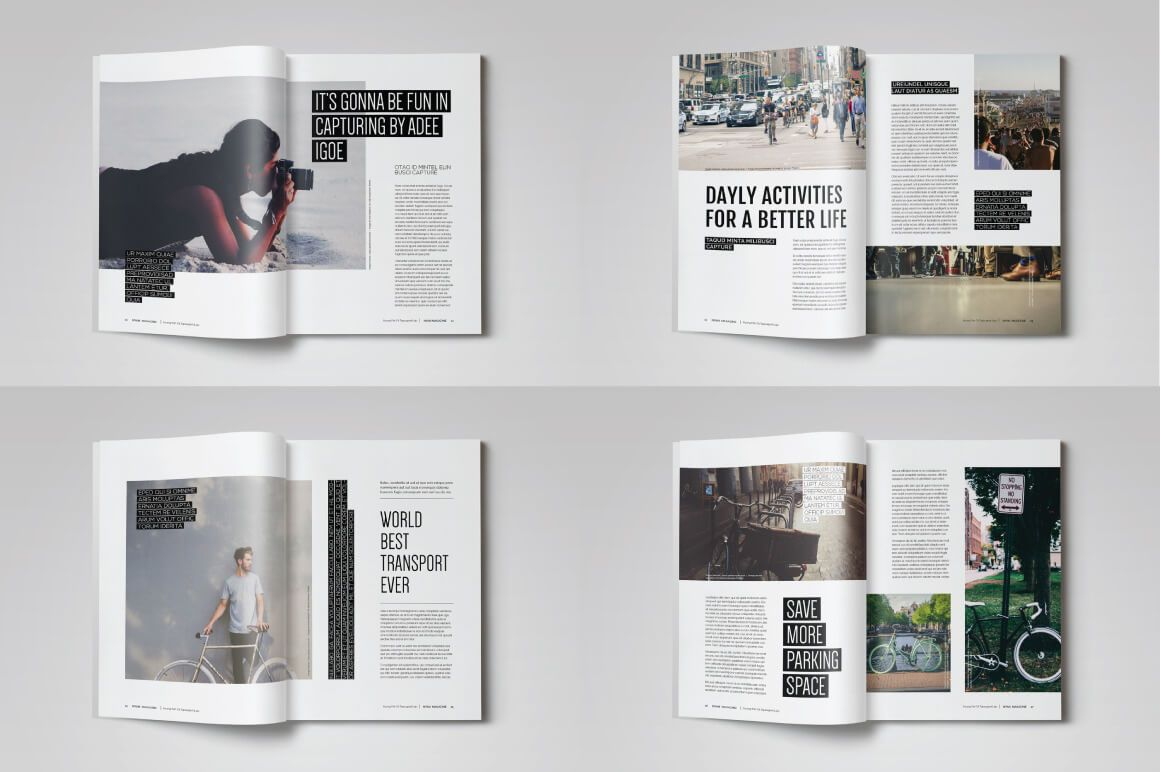 20 Premium Magazine Templates for Professionals | Pinterest