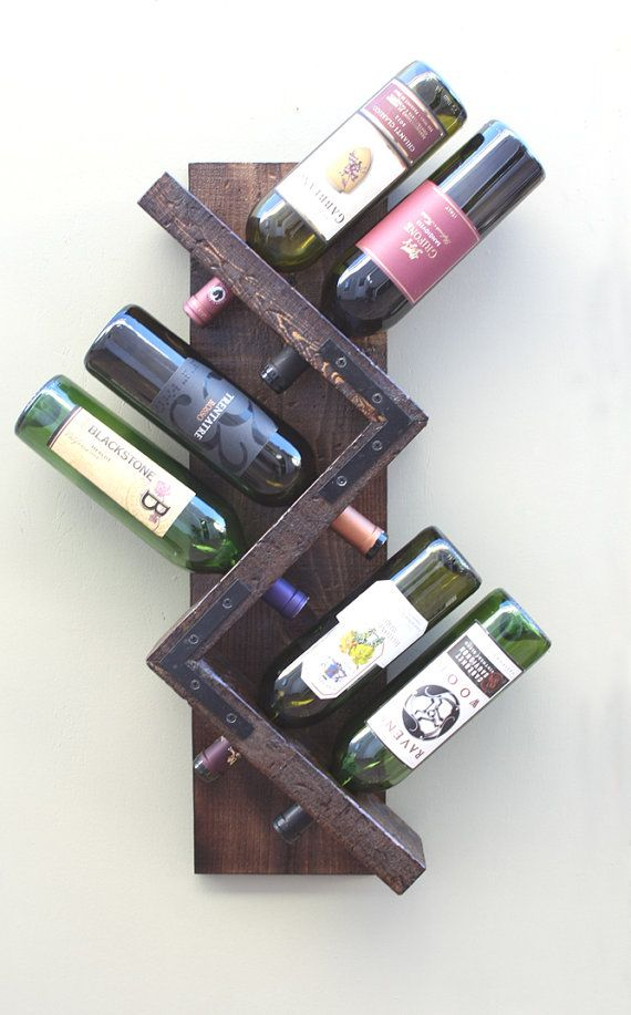 Hey, I Found This Really Awesome Etsy Listing At  Https://www.etsy.com/listing/257085362/wall Wine Rack 6 Bottle Holder  Storage