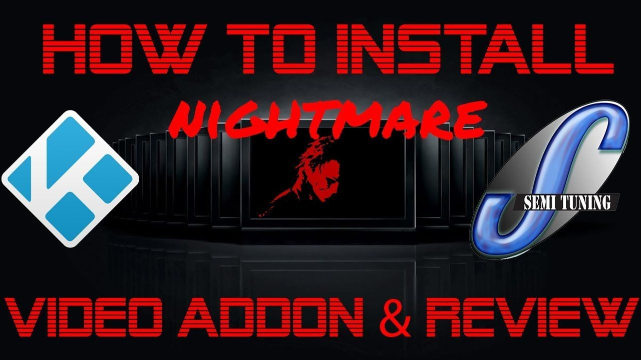 How To Install Nightmare Kodi Horror Movie and TV Show Addon