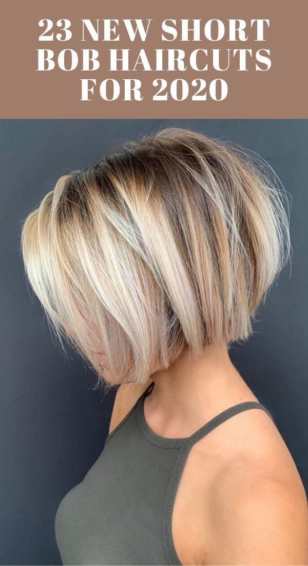 23 New Short Bob Haircuts for 2020