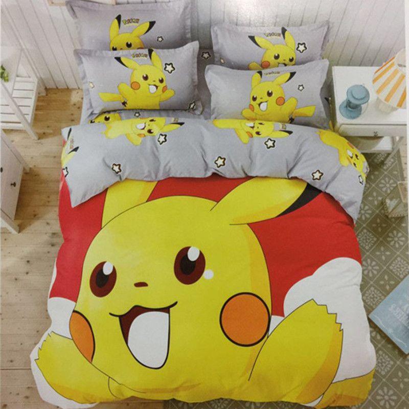 Beautiful Pokemon Bedding Set Queen Bedding Sets Pokemon
