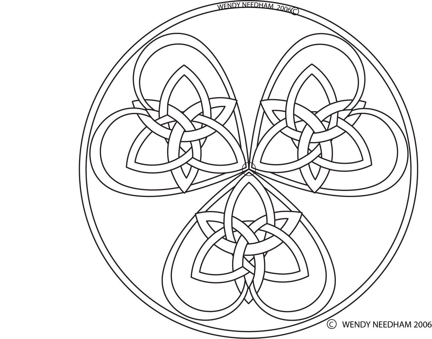 Pin de Jean Wetherilt en Create | Pinterest | Celta, Mandalas y ...