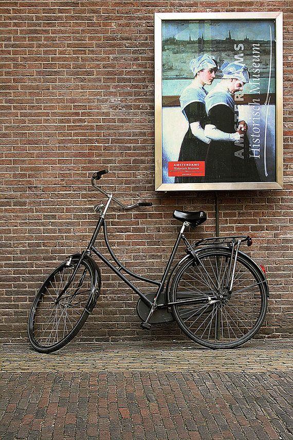 Amesterdam bike  Digital Photo  8x10 by GaleriaDozeDez on Etsy, €25.00