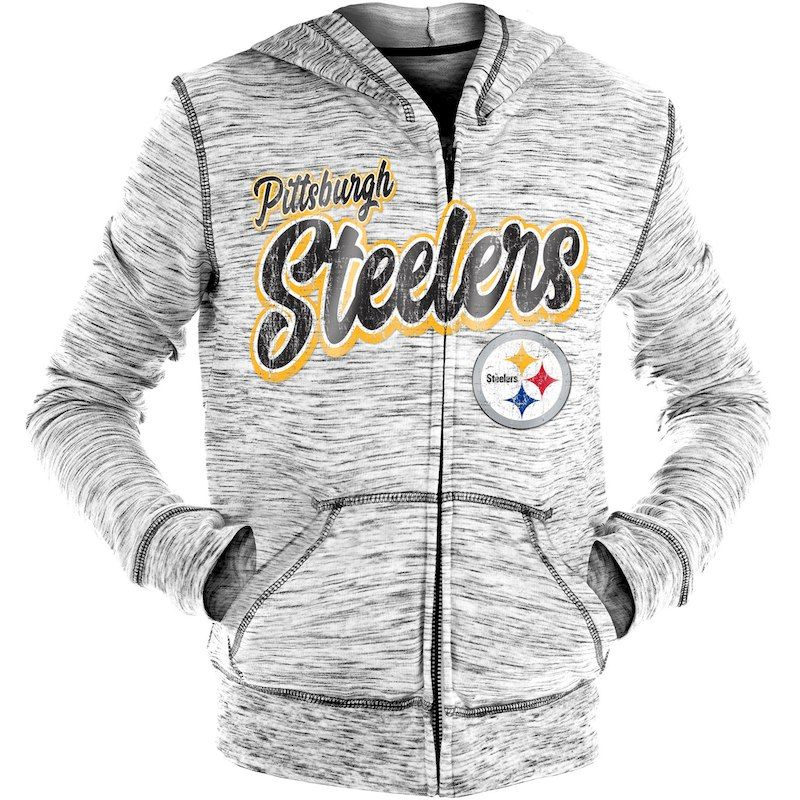 the latest c56b6 c7a7c Pittsburgh Steelers New Era Girls Youth Space Dye French ...