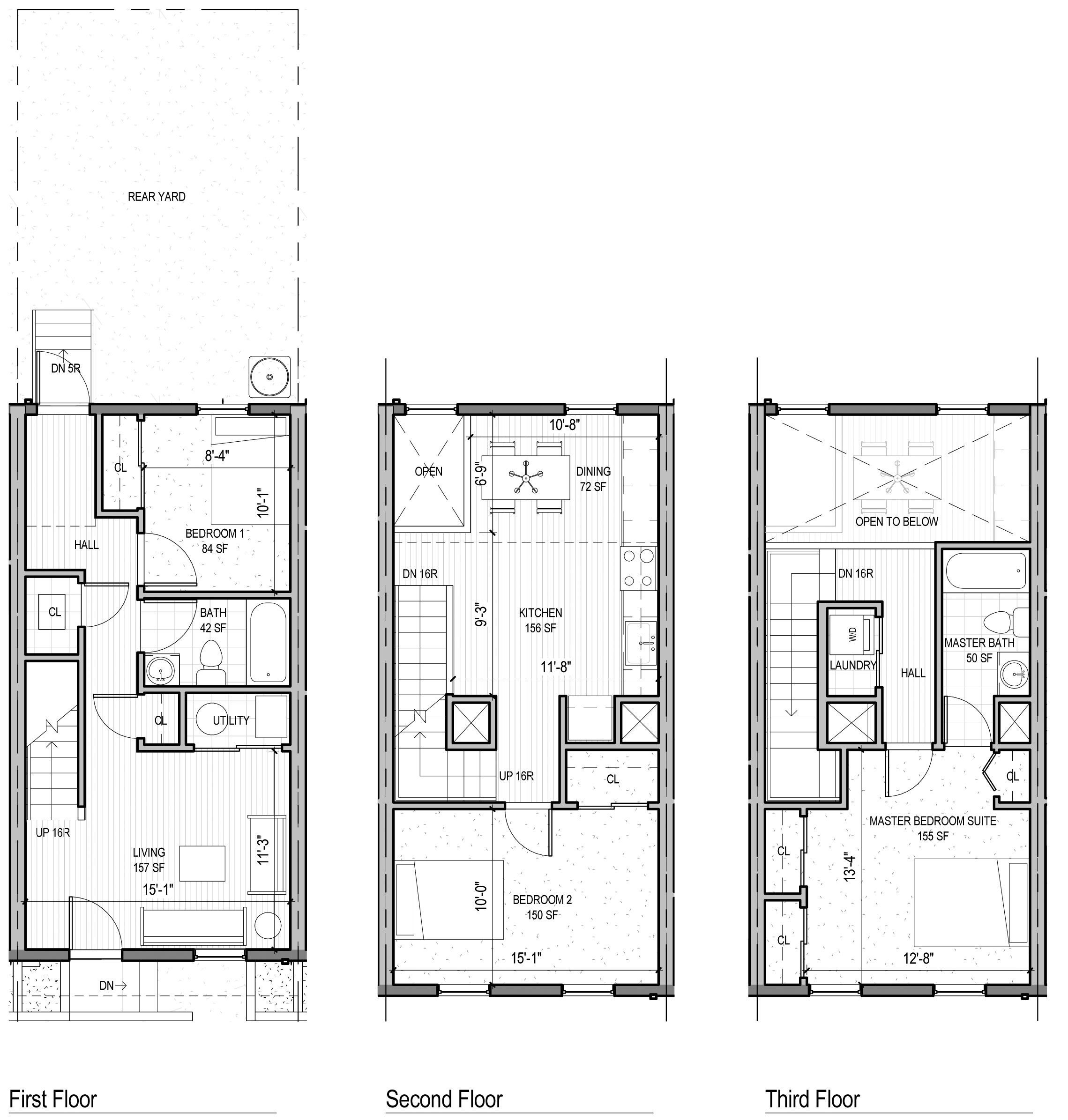 The jackson ground floor bedroom unit 3 bedroom 2 for 2 bedroom ground floor plan