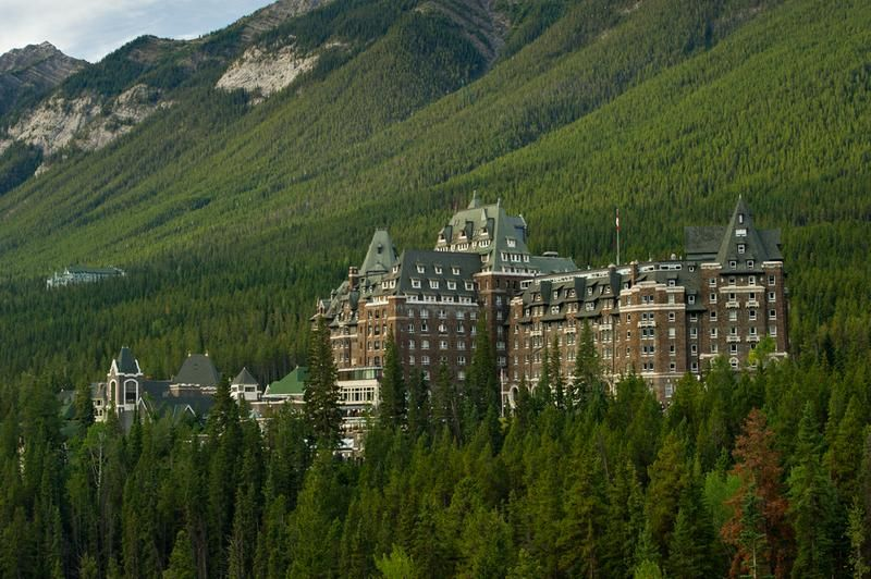 Stay At Fairmont Banff Springs Hotel Banff National Park Alberta Canada Bucket List Dream From Tripb Canadian Travel Fairmont Banff Springs Vacation Trips