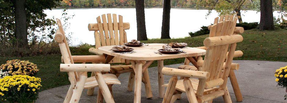 Log Furniture Manufacturer   Edmore, Michigan   Lakeland Mills