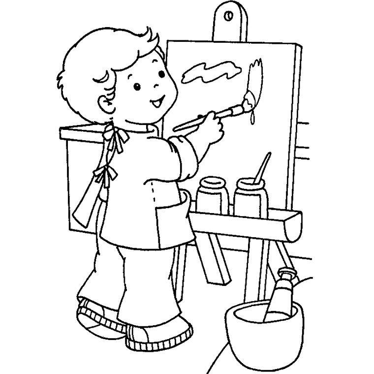 Ecole maternelle coloriage image edt pinterest - Coloriage cartable maternelle ...